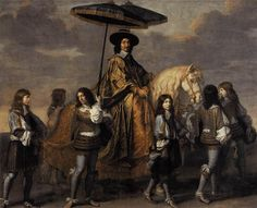 "Charles le Brun ""Chancellor Seguier at the Entry of Louis XIV into Paris"""