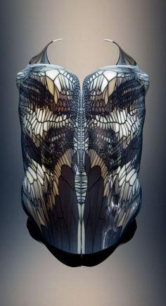 #3dprinting #art by Neri Oxman (Architect, Designer, Artist, MIT Professor)