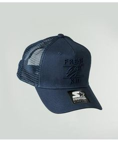 a9f36d96651 Fresh Ego Kid Mesh Trucker Cap Navy-Fresh Ego Kid-Gym Wear