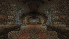 minecraft pe underground base download