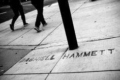 Dashiell Hammett Street just across from Burritt.  San Francisco Noir - NYTimes.com