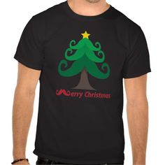 Glorious Mustache Merry Christmas Tee -- 9 Christmas Gifts for Long Distance Boyfriend #Christmas #ChristmasGifts #Boyfriend #LongDistanceRelationship #LDR