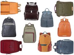Did you know that there are over 30 Piquadro backpacks available?
