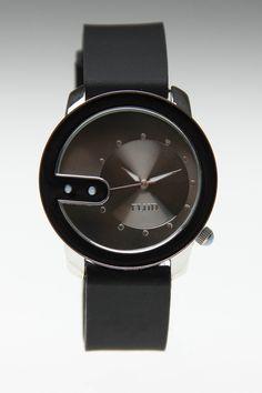 Flud Watches Re-Exchange Watch Black on Black :}