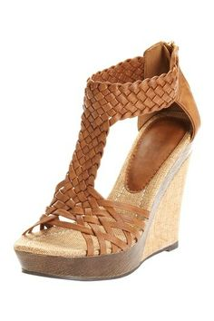 Comfy Wedge Sandal