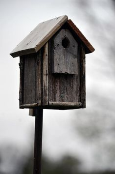 Nice rustic bird house