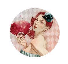 Elodie. Así se ilustra la moda de París que sale en  revistas como ELLE, Cosmopolitan o Glamour.