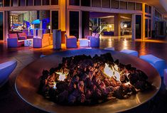 Living Room Terrace Fire Pit W FORT LAUDERDALE