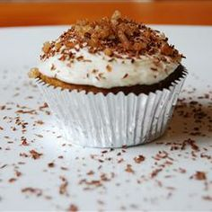 "Candied Yam Cupcakes | ""OMG! Brought a dozen to work and they disappeared FAST!"""