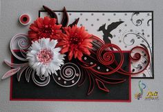 Quilling card -