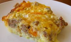 Slow Cooker Sausage and Egg Casserole - will have everyone raving!  www.getcrocked.com
