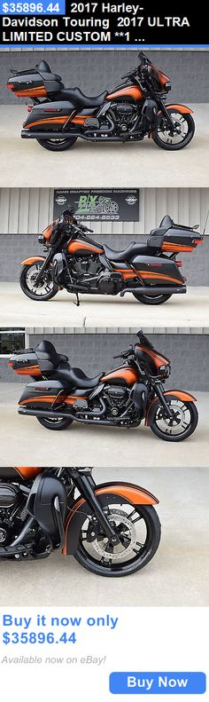 Motorcycles: 2017 Harley-Davidson Touring 2017 Ultra Limited Custom **1 Of A Kind** $15K In Xtras!! Black Ops Edition!! BUY IT NOW ONLY: $35896.44