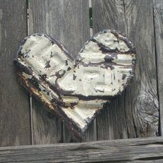 Ceiling Tin Heart