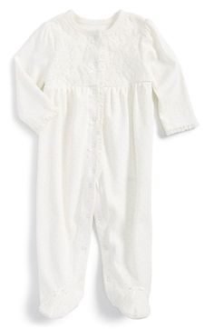 50463bb8d8b Little Me Lace One-Piece (Baby Girls)