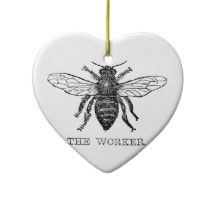 Bee Ornaments -- Click through for over 1,000 choices!