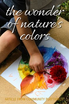 Offer children a creative activity in nature to make meaningful connections between art and the natural world. Nature art opportunities spark a sense of wonder, develop observation skills, and inspire cross-curricular learning. Read the full article here. Creative Activities, Learning Activities, Outdoor Learning Spaces, Cross Curricular, Natural Wonders, Natural World, Inspire, Children, Nature