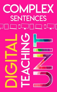 Engage students in a visual, interactive complex sentences unit that is designed for in person, online, hybrid, and blended learning settings. Grammar and writing practice made fun for middle and high school students! #DistanceLearningTpT #SentenceStructure #HighSchoolELA #MiddleSchoolELA Grammar And Punctuation, Teaching Grammar, Grammar Lessons, Writing Lessons, Writing Practice, English Language, Language Arts, Complex Sentences, Differentiated Instruction