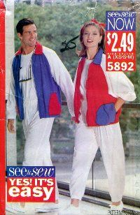 see and sew 5892