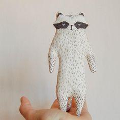 Raccoon Softie