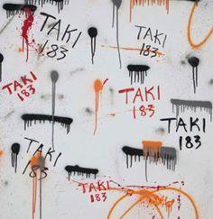TAKI 183 http://www.widewalls.ch/artist/taki-183/ #graffiti