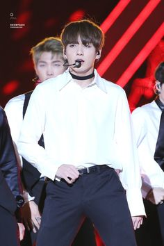 Jungkook ❤ BTS at the Busan One Asia Festival #BTS #방탄소년단