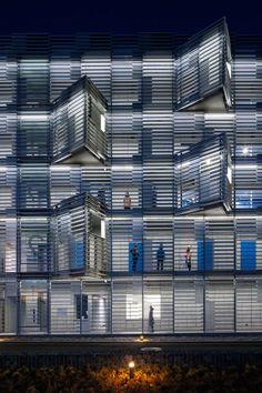 studio SUMO and obayashi corp. IHouse dormitory japan designboom