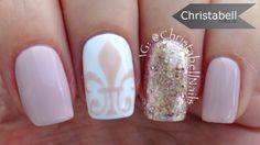 Fleur De Lis Nail Art Tutorial – Classic Nails