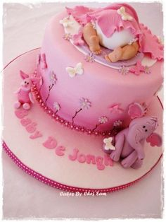 Cake Decorating Ideas | Project on Craftsy: Lumpy and Piglet Baby ...