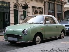 My favourite car, the Figaro.. curlewcountry.blogspot.com smittenbybritain.com