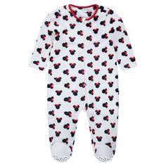 Βελουτέ πιτζάμα-υπνόσακος με τη Minnie της Disney, από 12 μηνών έως 5 ετών  Main
