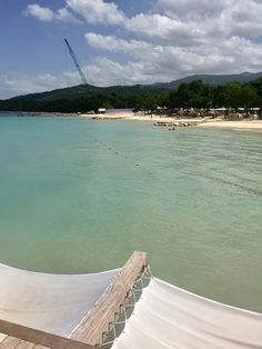 View from Latitudes Bar - Sandals South Coast, Jamaica..