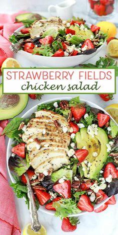 Strawberry Fields Chicken Salad