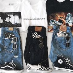 Grunge Outfits, Retro Outfits, Tumblr Outfits, Edgy Outfits, Teen Fashion Outfits, Mode Outfits, 90s Fashion, Fall Outfits, Vintage Outfits