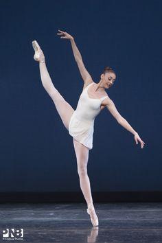 Laura Tisserand in George Balanchine's Concerto Barocco.