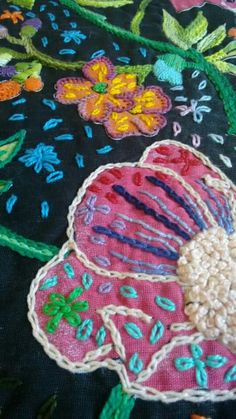 27 Ideas Embroidery Tutorial Pattern Fabrics For 2019 Sashiko Embroidery, Learn Embroidery, Embroidery Applique, Cross Stitch Embroidery, Embroidery Patterns, Bordado Popular, Crochet Mandala Pattern, Embroidery Techniques, Fabric Patterns