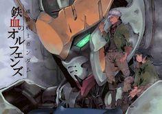 Mobile Suit Gundam: Iron-Blooded Orphans | AnimePopcorn Anime Couples Manga, Cute Anime Couples, Anime Manga, Manga Girl, Anime Girls, Anime Art, Gundam Wing, Gundam Art, Transformers