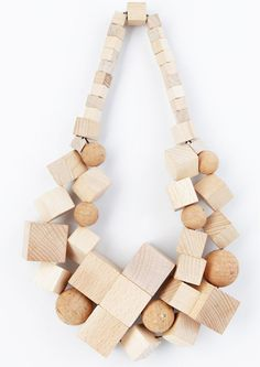 Super Natural wood Cubes & Spheres  N/L