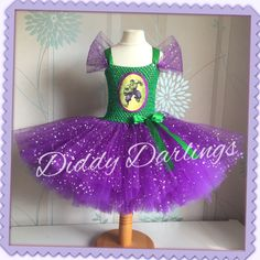 Hulk Tutu Dress. Incredible Hulk..Girls Superhero Dress. Glitter. Special Occasion.  Beautiful & lovingly handmade.  All characters and colours available Price varies on size, starting from £25.  Please message us for more info.  Find us on Facebook www.facebook.com/DiddyDarlings1 or our website www.diddydarlings.co.uk