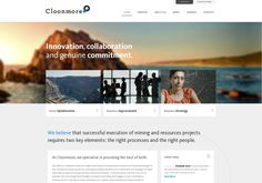 another example of the style - by the same people #webdesign http://www.cloonmore.com via @url2pin