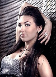 Elize Ryd (Amaranthe) Because every hot chick wishes she could be the lead singer in a heavy metal band!