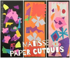 Cartoon Video on Matisse on the site. I Can tell you something about the artist Henri Matisse. I Can cut organic and geometric shapes. I Can identify and sort organic and geometric shapes.