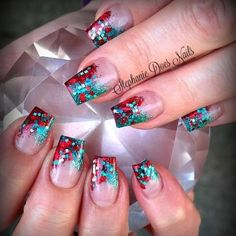 Festive  Check me out on Facebook www.facebook.com/stephaniedoesnails  #stephaniedoesnails #acrylicnails #nailartaddict #nails2inspire #nailswag #nailaholic #nailjunkie #naillove #nailfashion #nailtrend #nailaddict #naildesign #nails #nailartist #instanails #nailtech #duncannailtech #canadiannailtech #naildiva #nailsofinstagram #nailvixen #nailextentions #nailporn #nailart #nailmods #nailedbyapro #naildecore #nailedit #glitternails