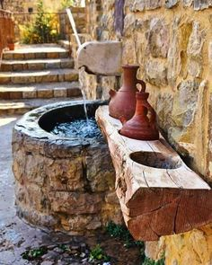 (Bekaa Kafra) - Lebanon in a Picture Old Stone, Brick And Stone, Rustic Stone, Old House Design, Scenery Pictures, Beirut Lebanon, National Art, Stone Houses, Beautiful Places To Visit