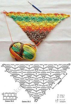 Volumetric pattern crochet. Ma