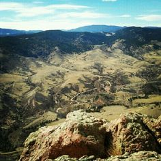 Top of Horsetooth Rock. Been there. ❤