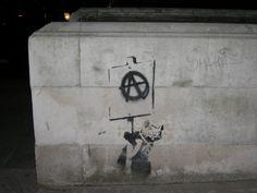 Banksy anarchist rat in Sloane Square - Banksy - Wikipedia