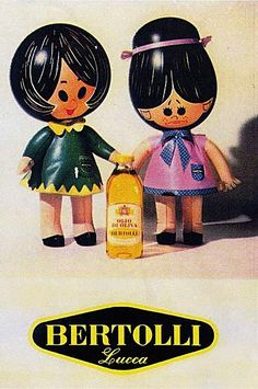 Vintage Italian Posters ~ #Italian #vintage #posters ~ Olivella_maria_rosa-bertolli_carosello Lucca