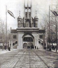 Eingangstor Gewrbeausstellung, Berlin 1896.