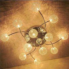 LEDシーリングライト 照明器具 インテリア照明 オシャレ G4-12灯 LED対応