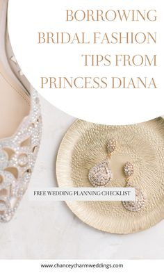 Over thirty-five years after her iconic wedding, Princess Diana's bridal fashion style is still inspiring today's brides. We sharing a roundup of our bridal fashion tips inspired by Princess Diana. #bridalfashion
